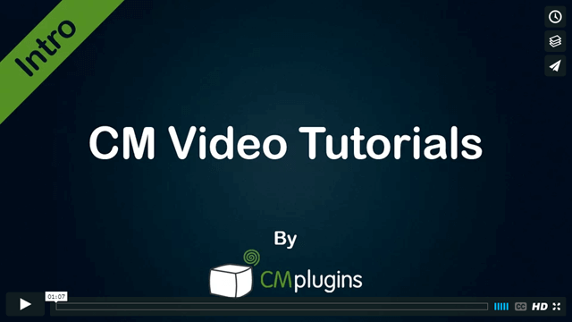 New! WordPress Video Tutorials Plugin by CreativeMinds